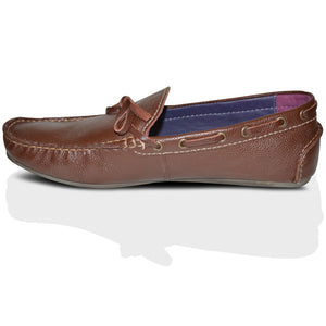 Mens GUCINARI 100% Leather Casual Moccasins Loafers Shoes