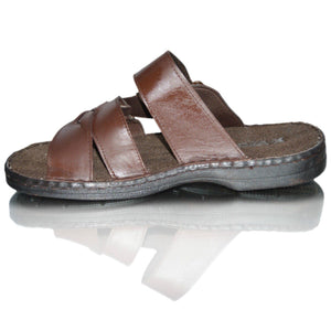 Mens Real Leather Walking Beach Outdoor Summer Sandals