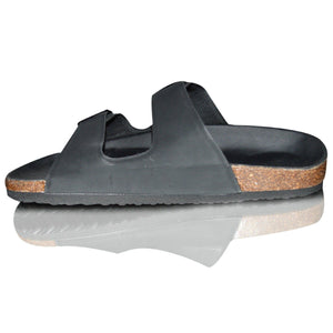 Mens Slip On Beach Shoes Buckle Summer Sandals Flip Flop Mules