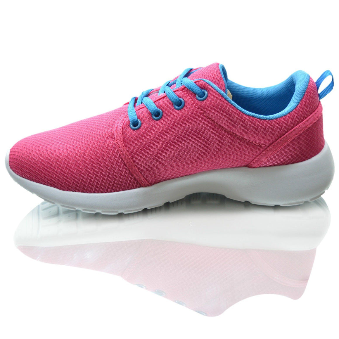 Girls Mesh Lightwieght Running Shoes Plimsolls Trainers Sneaker