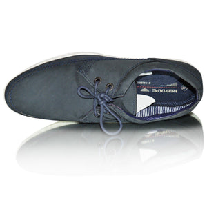 Mens Red Tape Leather  Smart Casual Deck Shoes