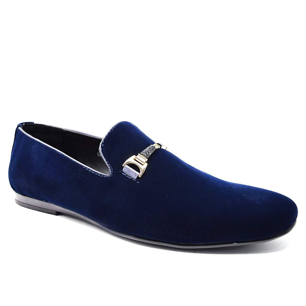 Mens Leather Buckle Loafers Slip On Driving Moccasins Flat Shoes