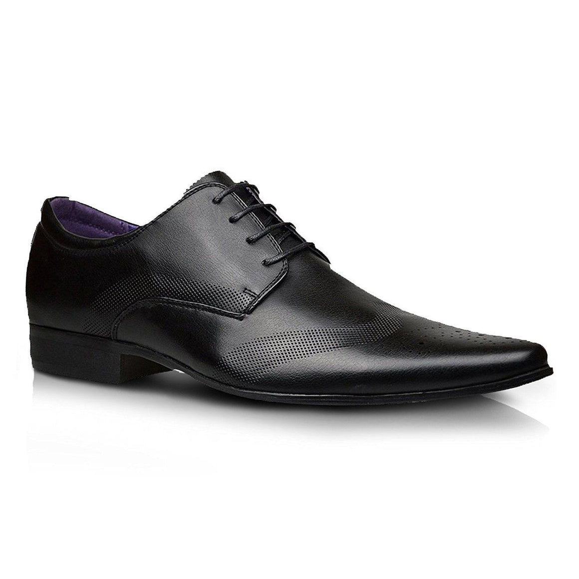 Mens Leather Lined Formal Office Dress Lace Up Smart Brogues