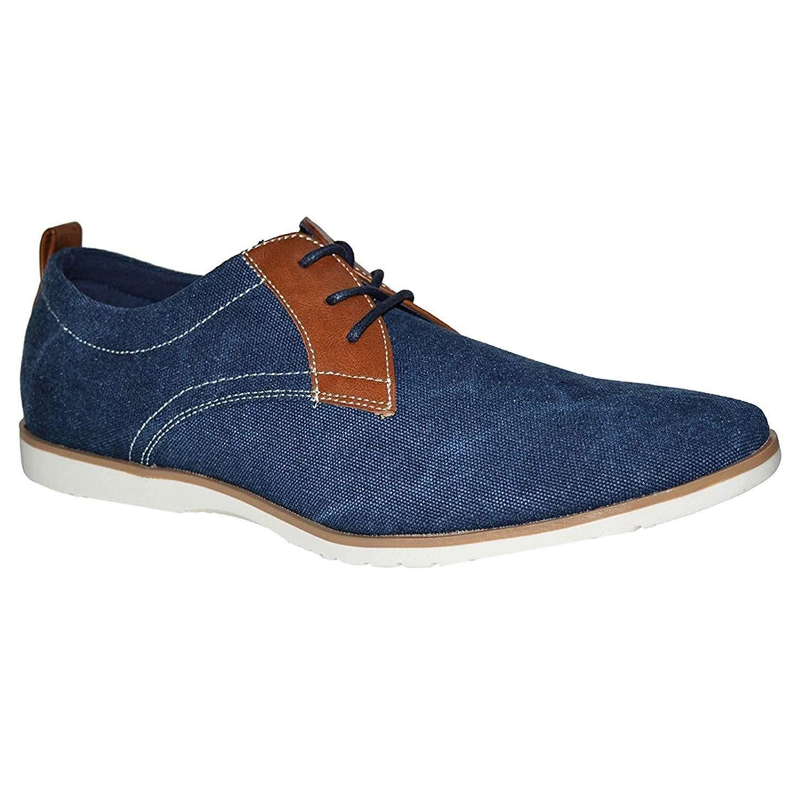 Mens Formal Lace Up Two Tone Casual Summer Shoes
