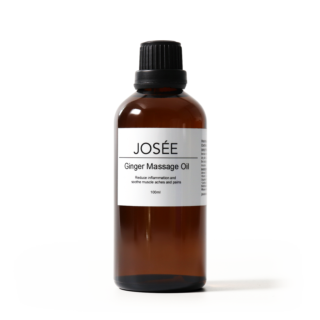Ginger Massage Oil 50ml - JOSÉE Organic Beauty & Perfume