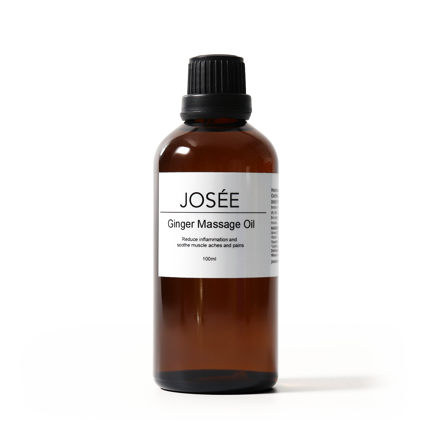 Ginger Massage Oil 30ml - JOSÉE Organic Beauty & Perfume