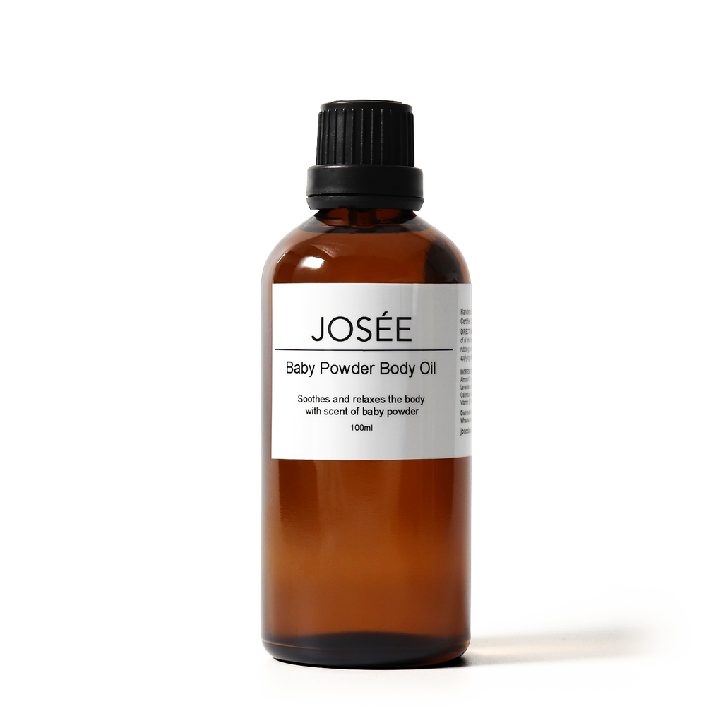 Baby Powder Body Oil 100ml - JOSÉE Organic Beauty & Perfume