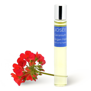 Geranium Argan Hand Oil 10ml - JOSÉE Organic Beauty & Perfume