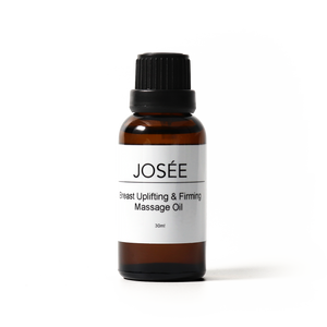 Breast Uplifting & Firming Massage Oil 30ml - JOSÉE Organic Beauty & Perfume