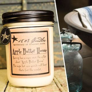 Lemondrop Cookie Soy Jar Candle - 14oz.