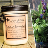 Lavender Lemongrass Soy Jar Candles - 14oz.