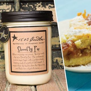Shoofly Pie Soy Jar Candle - 14oz.