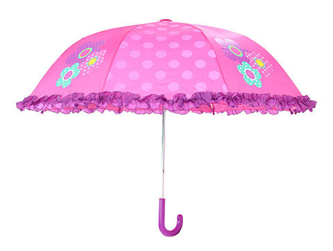 Kids' Flower Umbrella - Pink