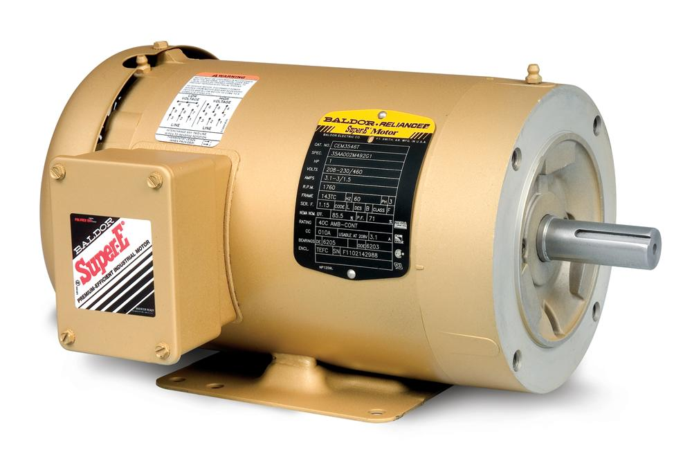Baldor CEM3708T General Purpose Three Phase Motor - CEM3708T