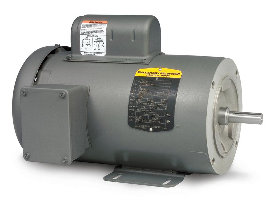 Baldor CL3513 General Purpose Single Phase Motor - CL3513