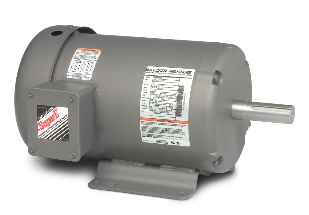 Baldor EHM3558T-5 General Purpose HVAC Motor - EHM3558T-5