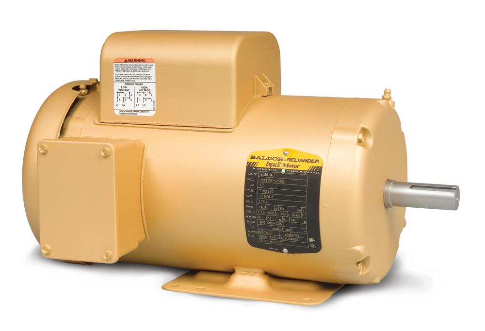 Baldor EL3501 General Purpose Single Phase Motor - EL3501