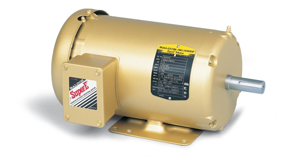 Baldor EM3611T General Purpose Three Phase Motor - EM3611T