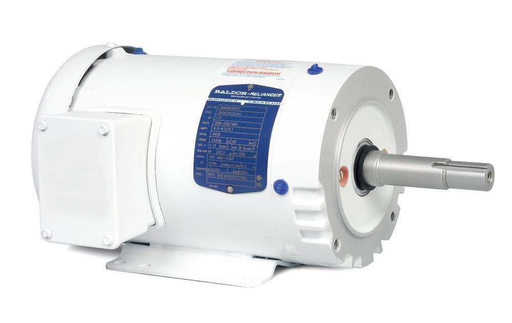 Baldor JMEWDM3613T Washdown Duty Close Coupled Pump Motor - JMEWDM3613T