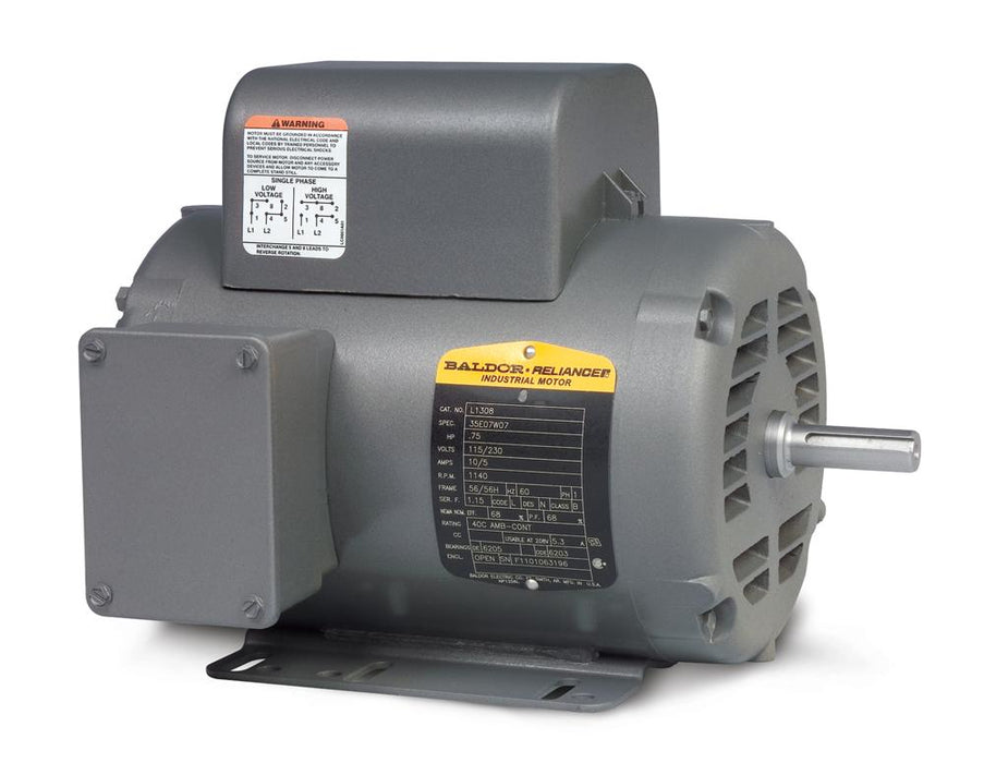 Baldor L1322TM General Purpose Single Phase Motor - L1322TM