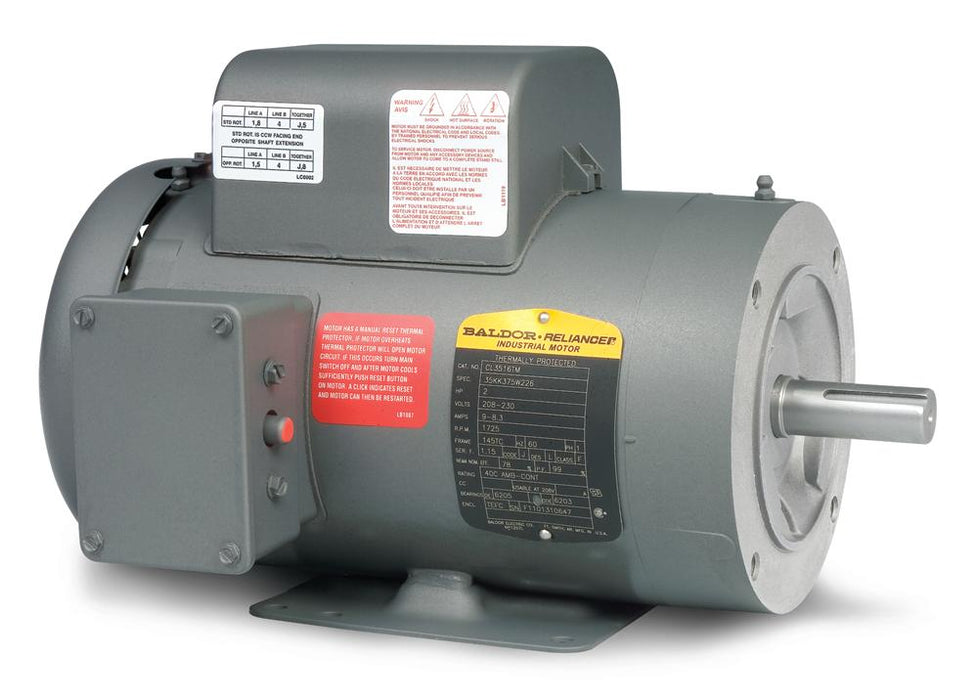 Baldor PCL3514M Washdown Duty Pressure Washer Motor - PCL3514M