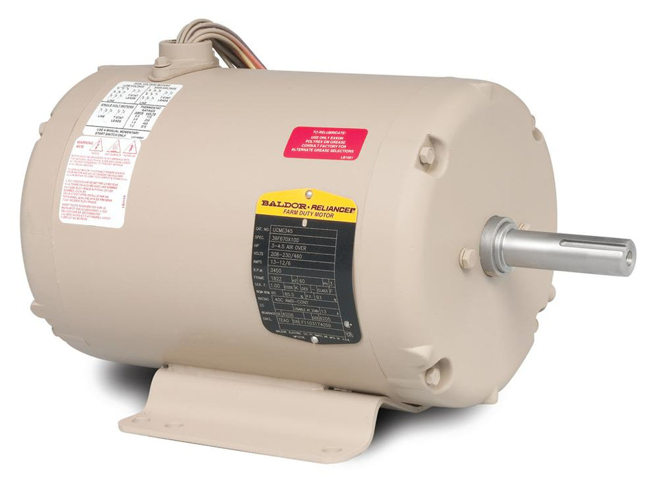 Baldor UCME759 Grain Dryer/Vane Axial Fan Farm Duty Motor - UCME759