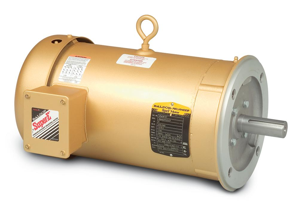 Baldor VEM3554T-5 General Purpose Three Phase Motor - VEM3554T-5
