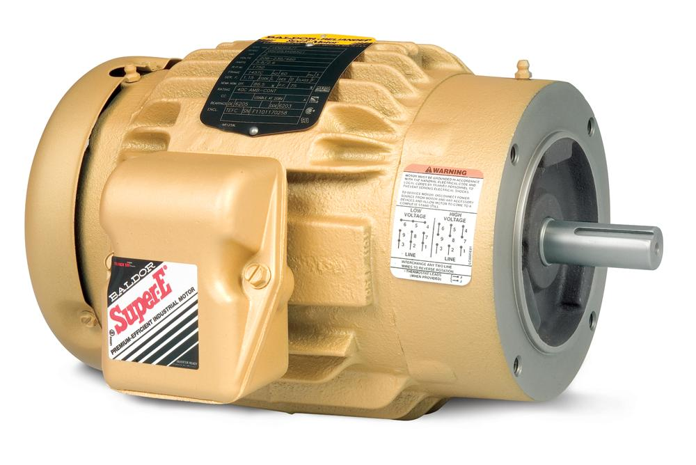Baldor VEM3584T General Purpose Three Phase Motor - VEM3584T