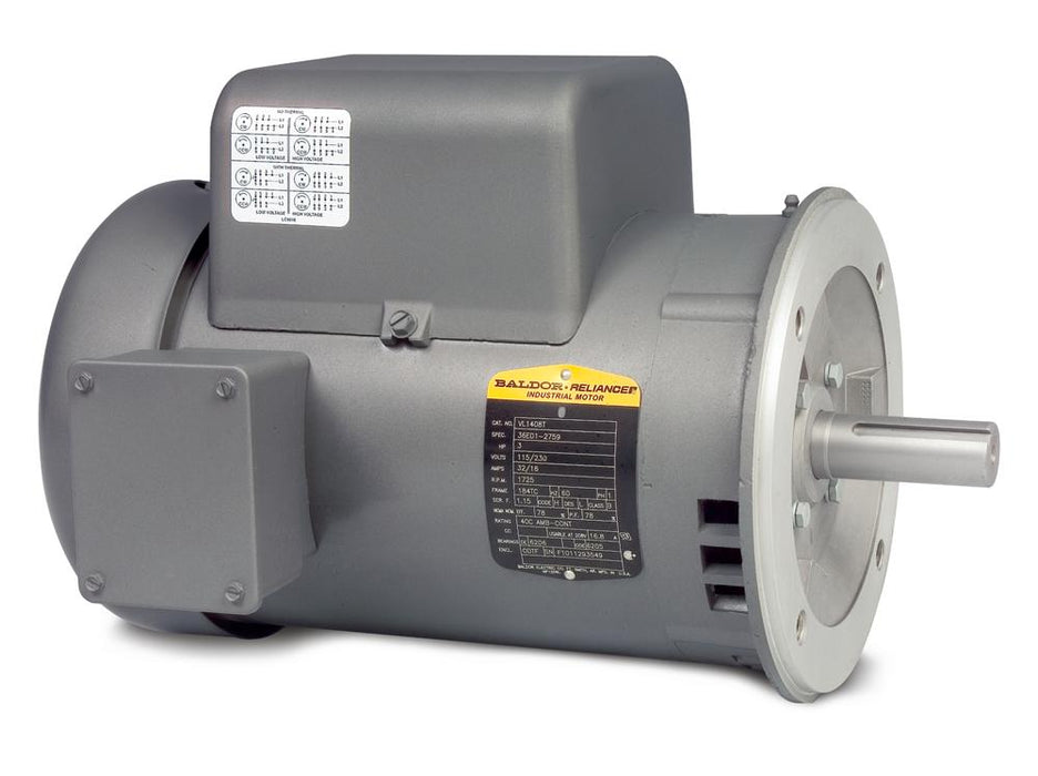 Baldor VL1406T General Purpose Single Phase Motor - VL1406T