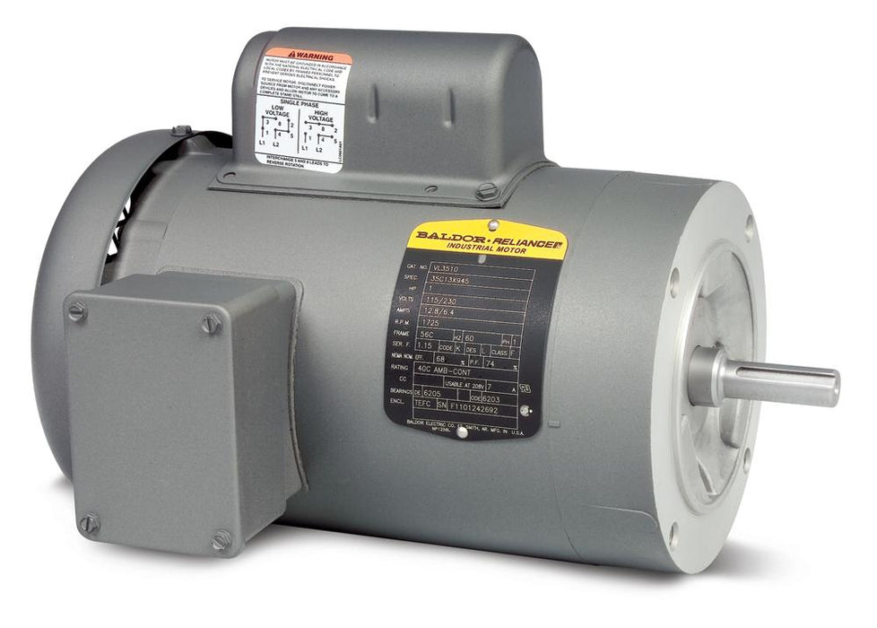 Baldor VL3503 General Purpose Single Phase Motor - VL3503