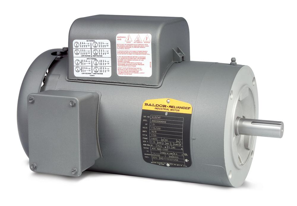 Baldor VL3515-50 General Purpose Single Phase Motor - VL3515-50
