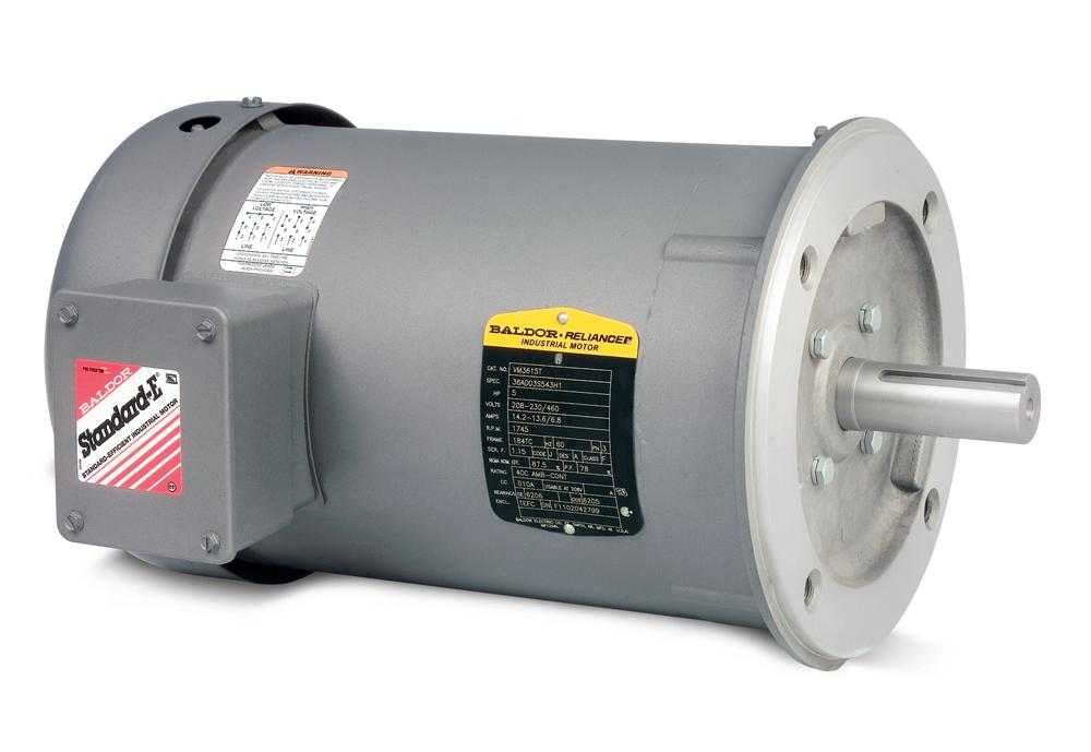 Baldor VM3535 General Purpose Three Phase Motor - VM3535