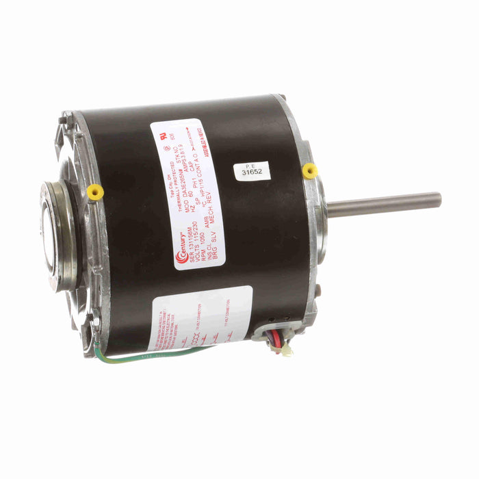 "Century 606  5"" Diameter HVAC Refrigeration Fan Motor - 606"