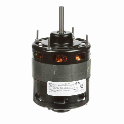 "Century 78 4.4"" Diameter HVAC OEM Replacent Motor - 78"