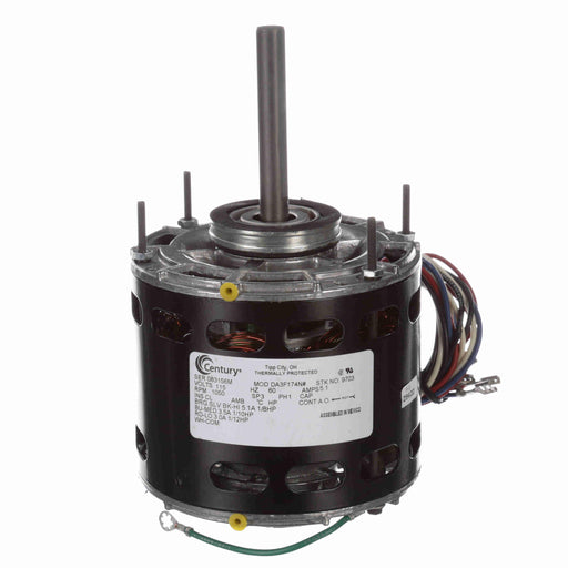 "Century 9703  5"" Diameter HVAC Direct Drive Fan Motor - 9703"