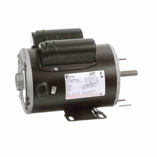 "Century C581V1 Capacitor Start, Capacitor Run 6-1/2"" Diameter Belt Drive Farm Duty Blower Motor - C581V1"