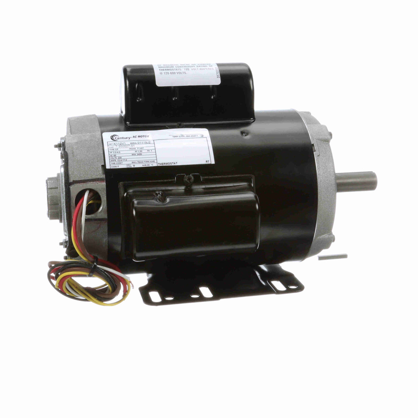 Aeration Fan Motors