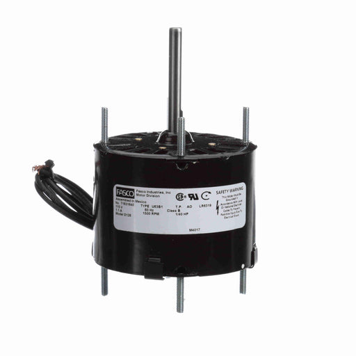"Fasco D126 Shaded Pole 3.3"" Diameter General Purpose Motor - D126"