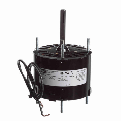 "Fasco D127 Shaded Pole 3.3"" Diameter General Purpose Motor - D127"