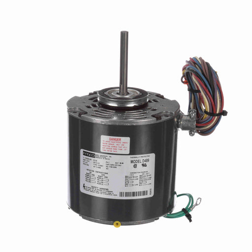 "Fasco D489 PSC (Permanent Split Capacitor) 5"" Diameter OEM Replacement Condenser Fan and Heat Pump Motor - D489"