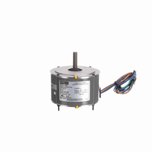 "Fasco D895 PSC (Permanent Split Capacitor) 5.6"" Diameter Trane OEM Replacement Motor - D895"