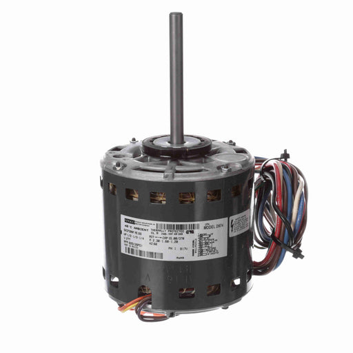 "Fasco D974 PSC (Permanent Split Capacitor) 5.6"" Diameter Direct Drive Blower and Unit Heater Motor - D974"