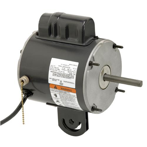 U.S. Motors 8102  PSC (Permanent Split Capacitor) Direct Drive Farm Duty Poultry Fan Motor - 8102