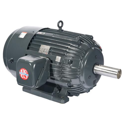 U.S. Motors C100P2C  Three Phase Premium Efficient General Purpose Motor - C100P2C