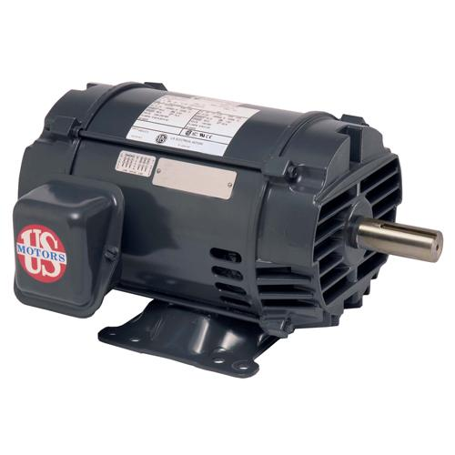 U.S. Motors D200P2FS  Three Phase Premium Efficient General Purpose Motor - D200P2FS