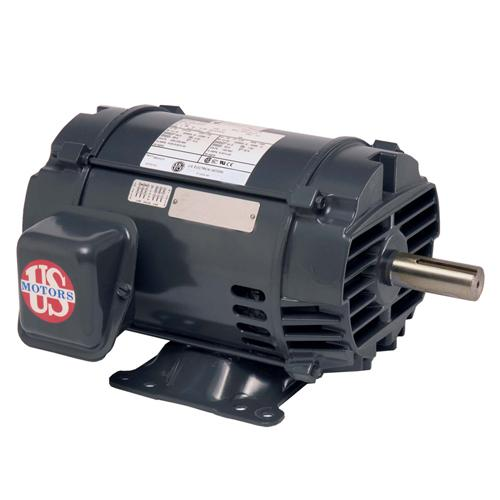 U.S. Motors FF100E1BS  Three Phase Fire Pump Motor - FF100E1BS