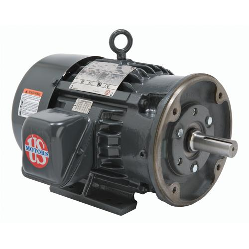 U.S. Motors H15P3DC  Three Phase Premium Efficient General Purpose Motor - H15P3DC