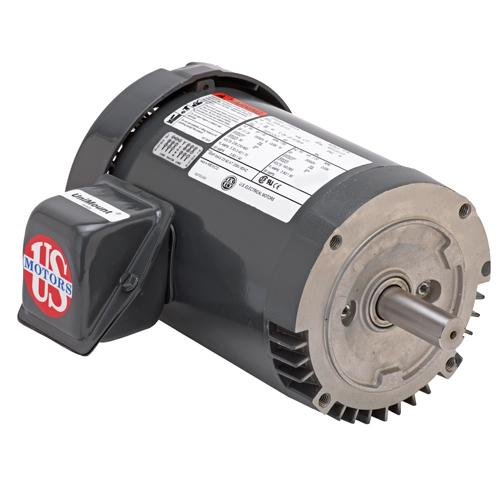 U.S. Motors U12S3ACR  Three Phase General Purpose Motor - U12S3ACR