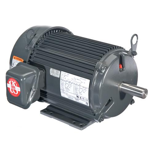 U.S. Motors U25P1DS  Three Phase Premium Efficient General Purpose Motor - U25P1DS
