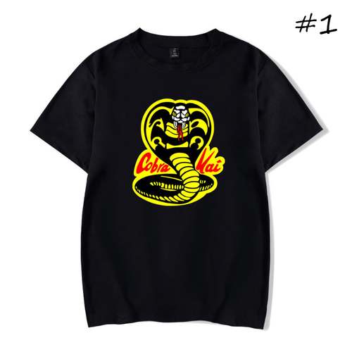 Cobra Kai T-Shirt (4 Colors) - C